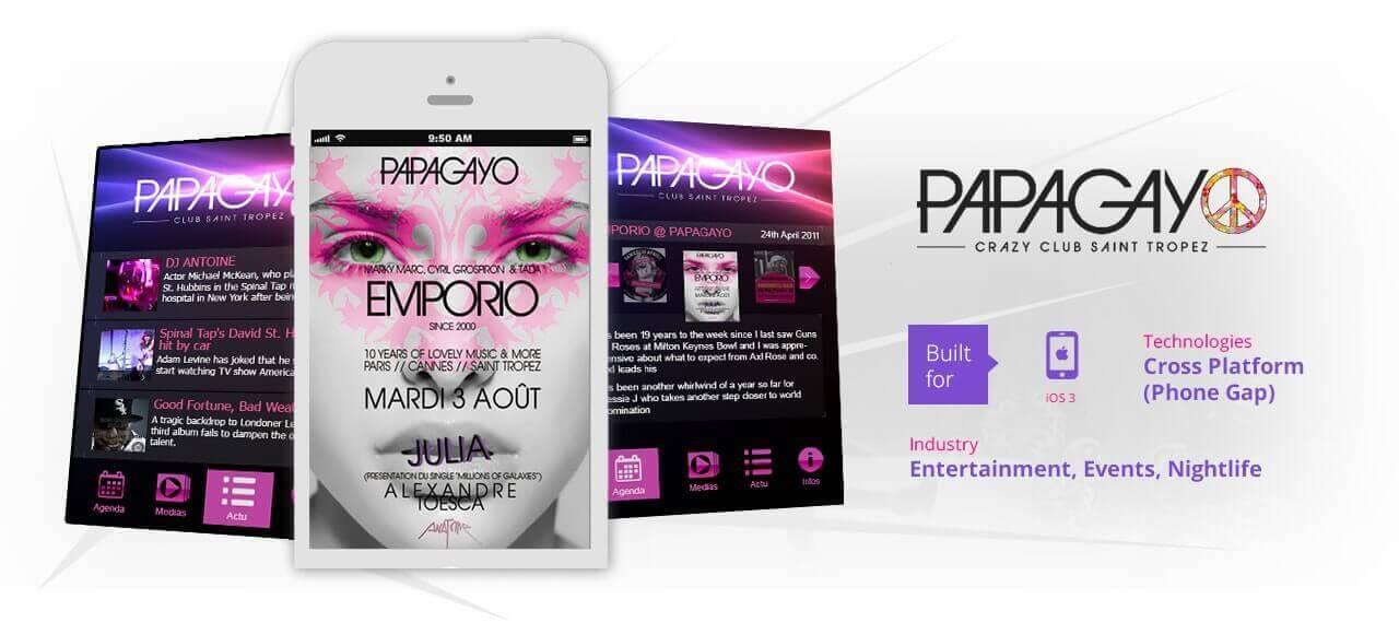 PAPAGAYO project banner