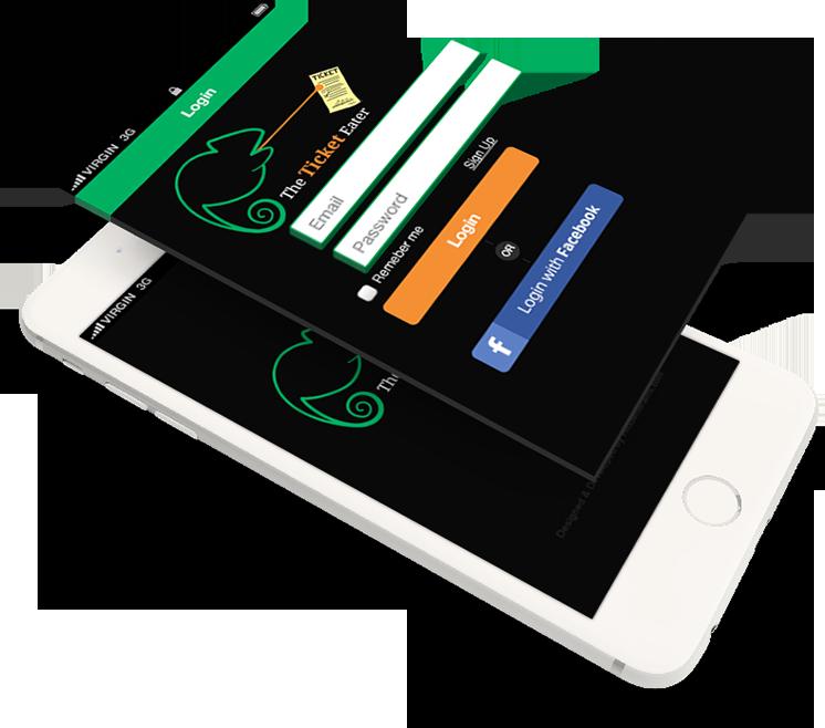 The Ticket Eater App : iOS OCR Scanner App | Best Document Scanner